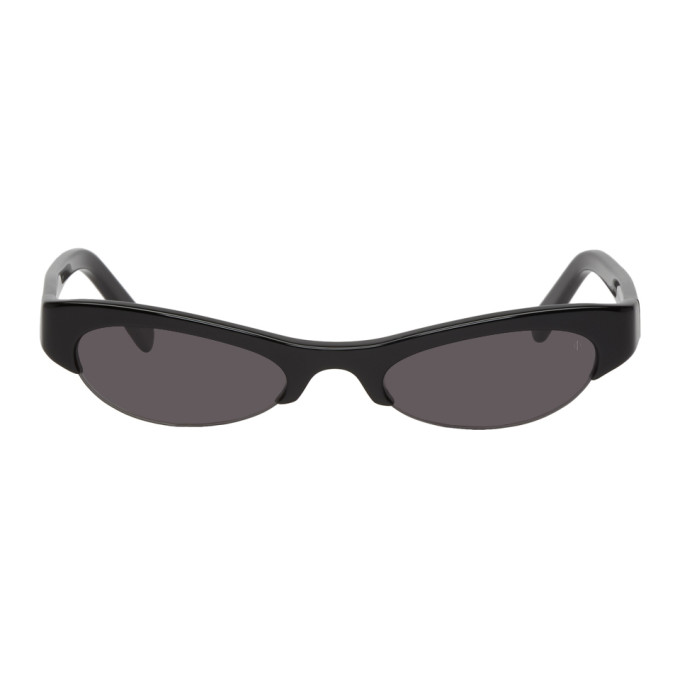 NOR Nor Black Luna Sunglasses in Black/Black
