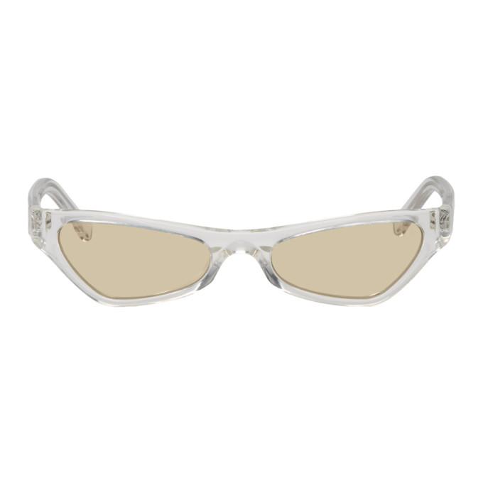 NOR Nor Transparent And Orange Venus Sunglasses in Trans/Orang