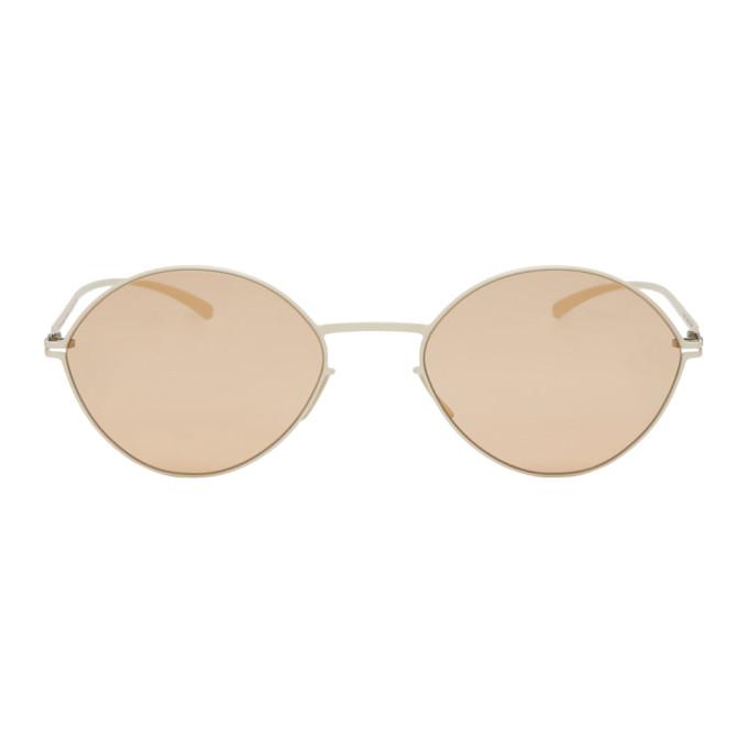 Maison Margiela White Mykita Edition MMESSE020 Sunglasses