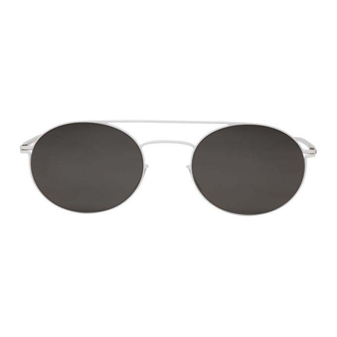 Maison Margiela White Mykita Edition MMESSE019 Sunglasses