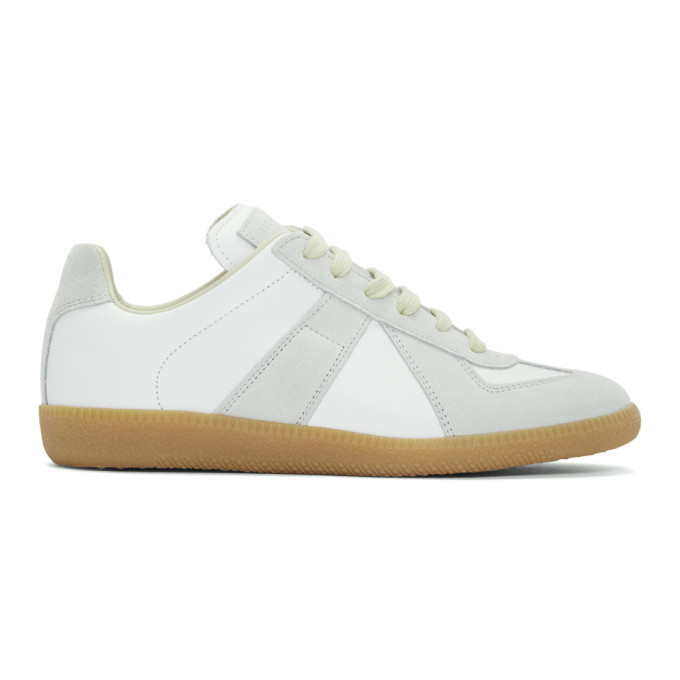 Maison Margiela SSENSE Exclusive White Classic Replica Sneakers