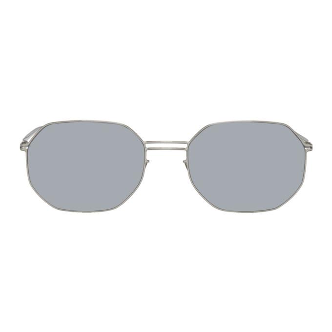 Maison Margiela Silver Mykita Edition MMESSE021 Sunglasses