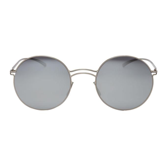 Maison Margiela Silver Mykita Edition MESSE013 Sunglasses