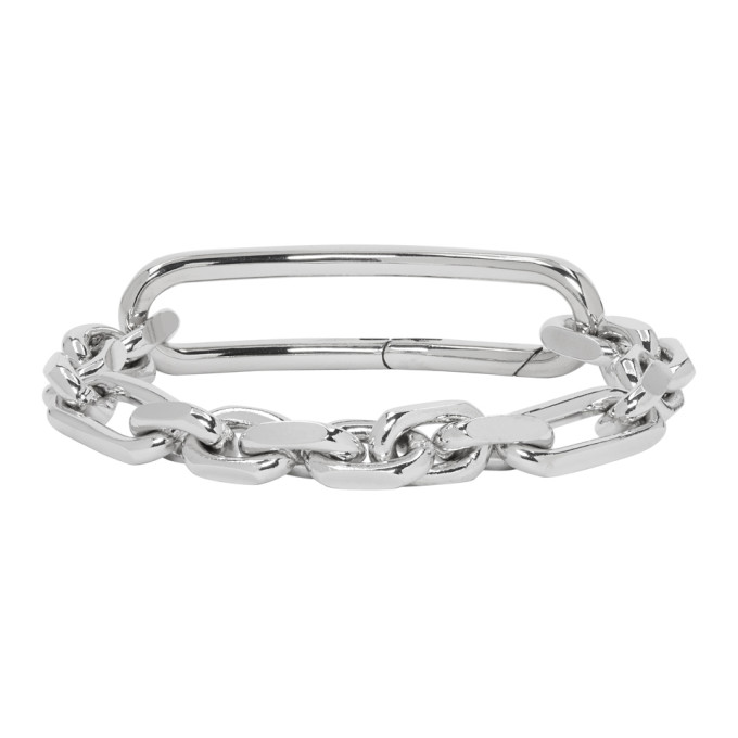 Maison Margiela Silver Chain Bracelet, 951 Silver