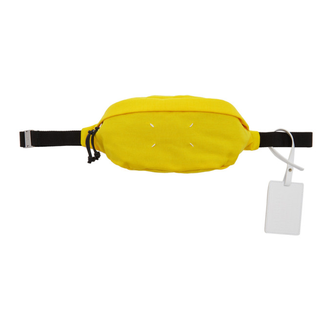 Maison Margiela Yellow Canvas Fanny Pack