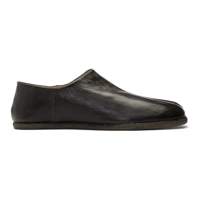 Maison Margiela Black Tabi Loafers