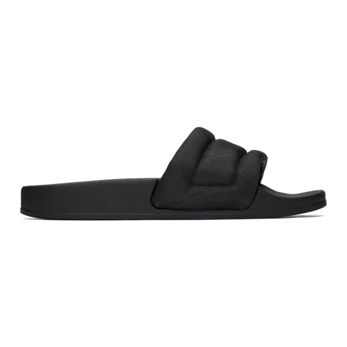 Maison Margiela Black Future Slides