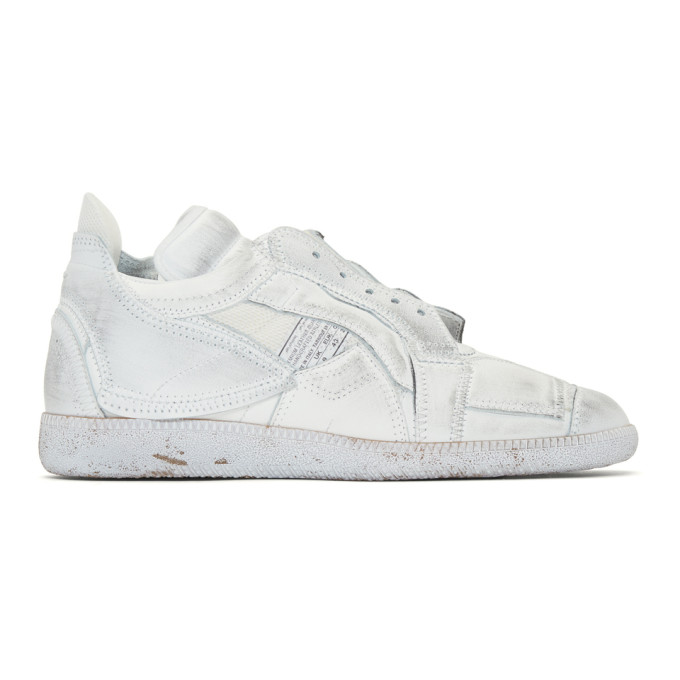 Maison Margiela White Collage Sneakers