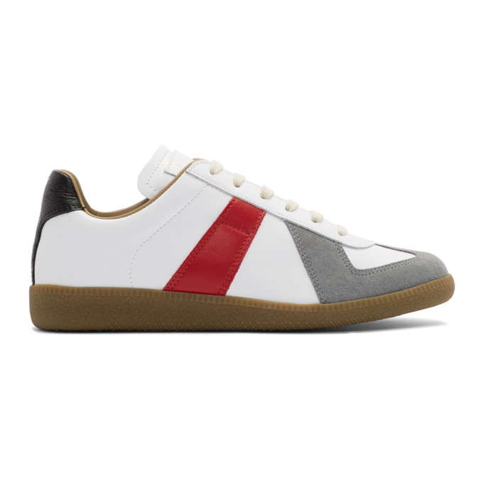 Maison Margiela Multicolor Colorblock Replica Sneakers