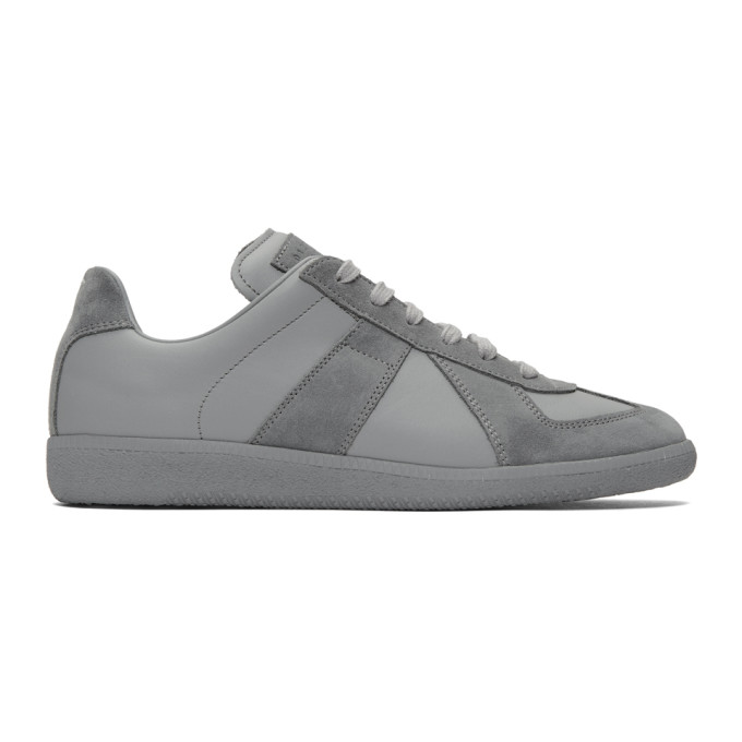 Maison Margiela Grey Replica Sneakers