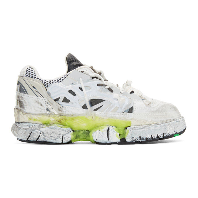 Maison Margiela White Fusion Low Sneakers