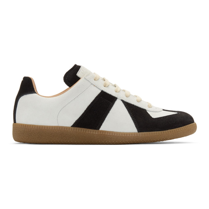 Maison Margiela Black & White Replica Sock Sneakers