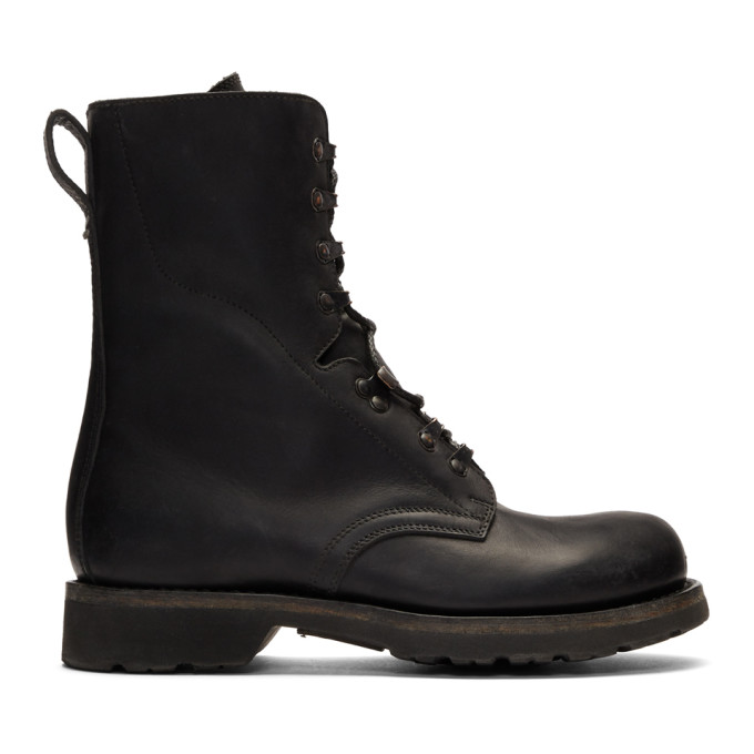 Maison Margiela Black Workman Boots