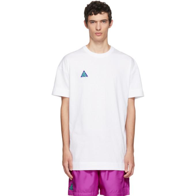 Nike ACG ホワイト ライト Menta T シャツ