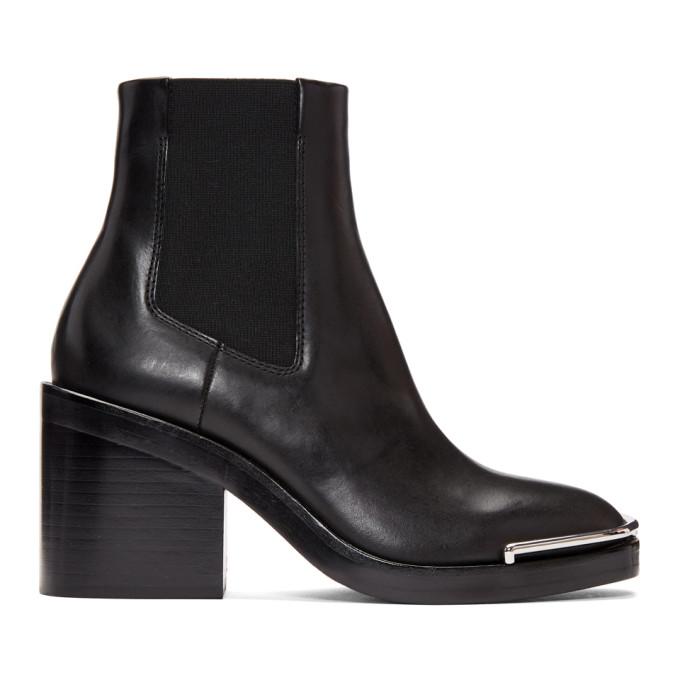 Alexander Wang Black Halley Chelsea Boots