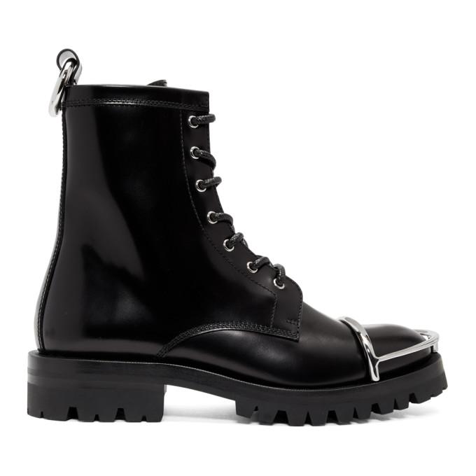 Alexander Wang Black London Box Boots