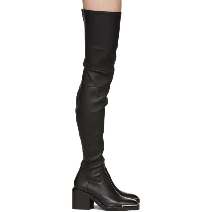 Alexander Wang Black Hailey Over-the-Knee Boots