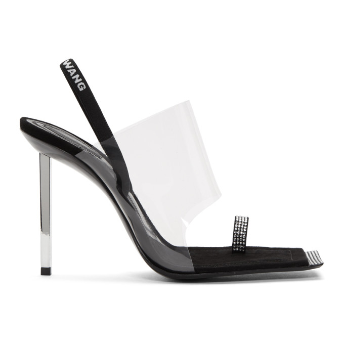 Alexander Wang Transparent PVC Kaia Sandals