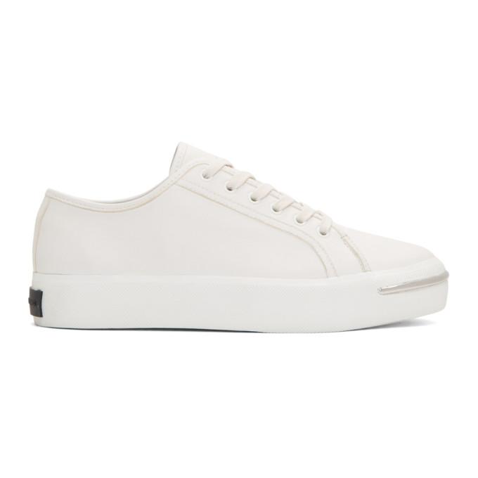 Alexander Wang White Nola Low Sneakers