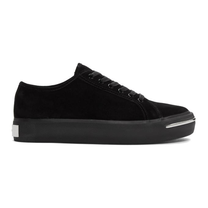 Alexander Wang Black Nola Low Sneakers