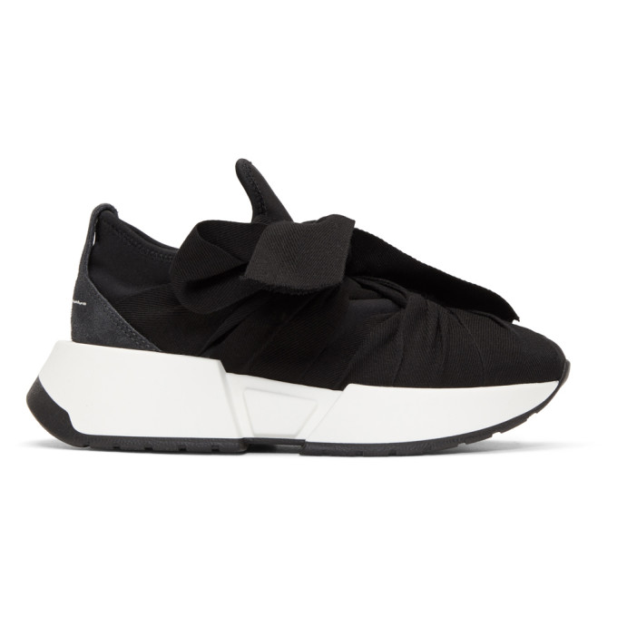 MM6 Maison Martin Margiela SSENSE Exclusive Black Bow Sneakers