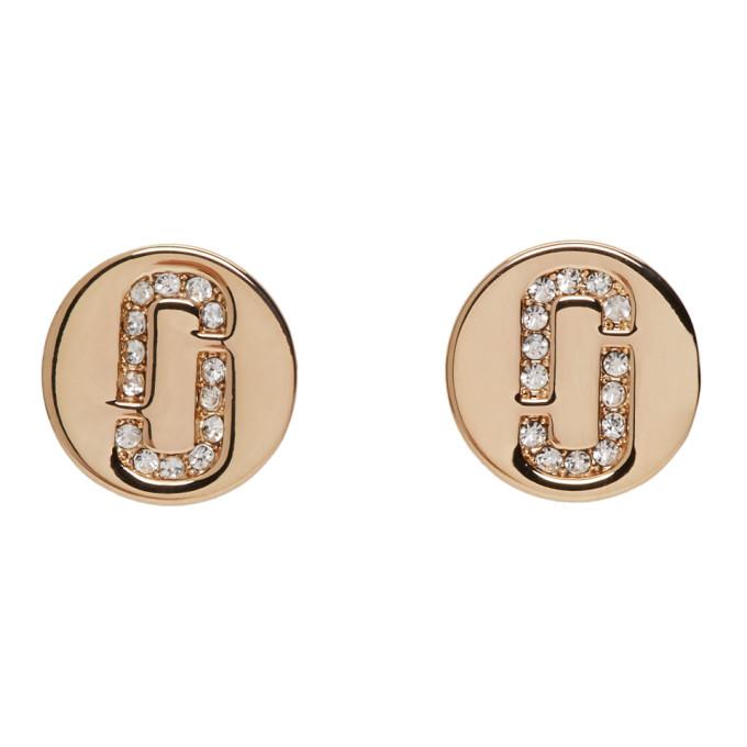 Marc Jacobs Gold Stud Earrings