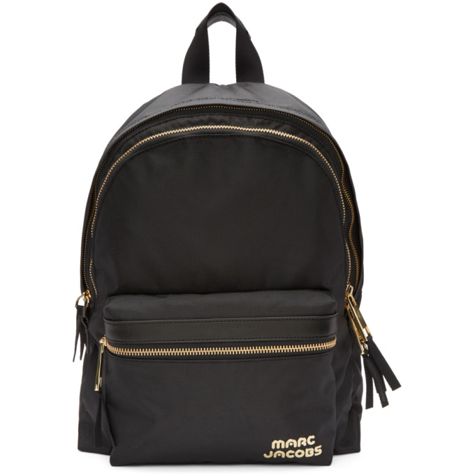 Marc Jacobs Black Large Backpack