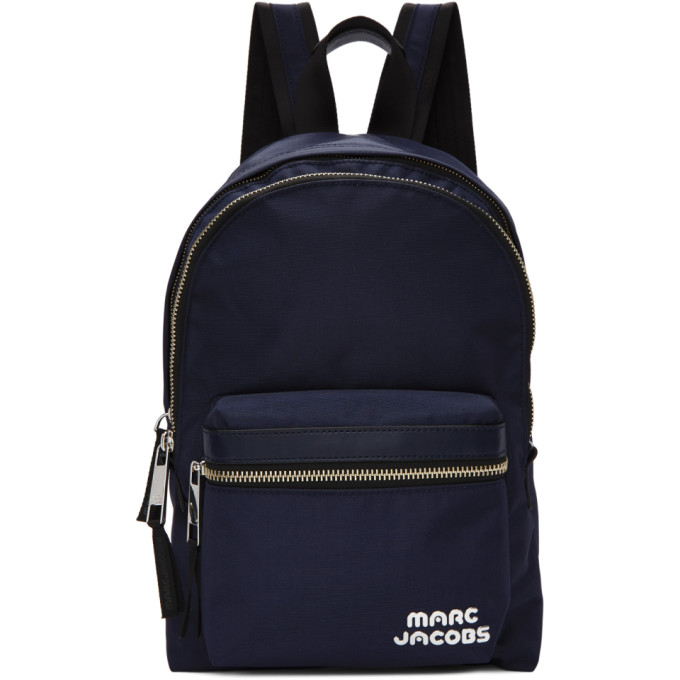 Marc Jacobs Navy Medium Backpack