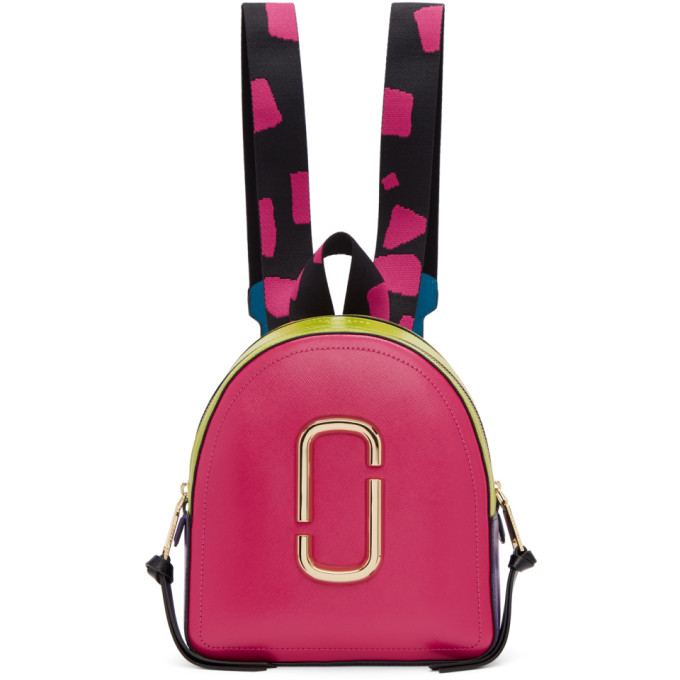 Marc Jacobs Pink 'The Pack Shot' Backpack