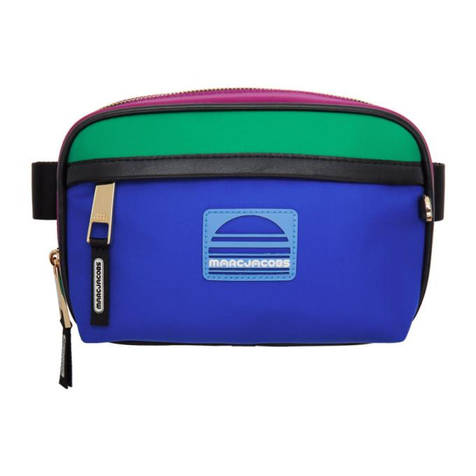 Marc Jacobs Pink & Blue Sport Belt Bag
