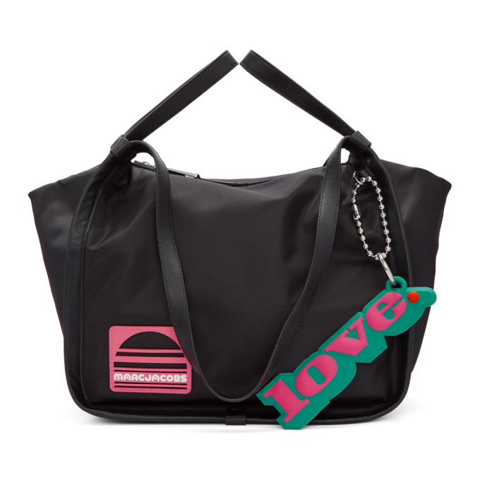 Marc Jacobs Black Convertible Sport Tote