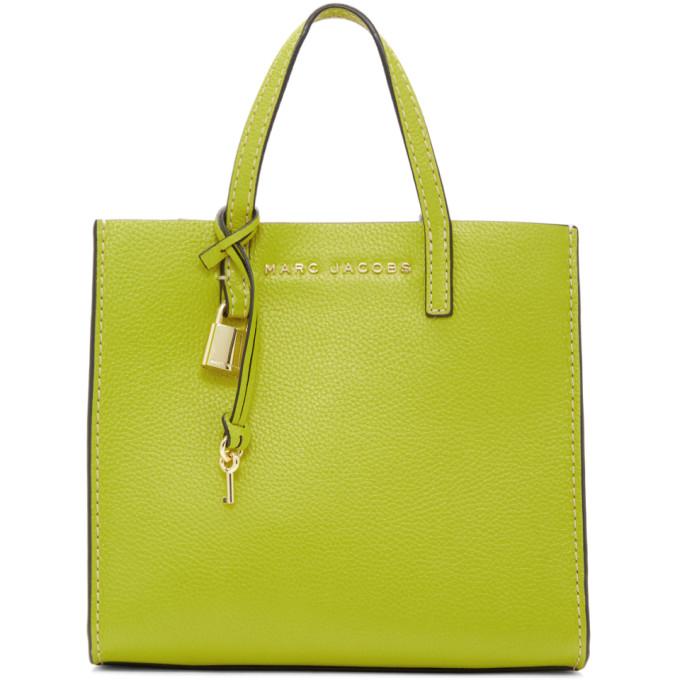 Marc Jacobs Green Mini Grind Bag