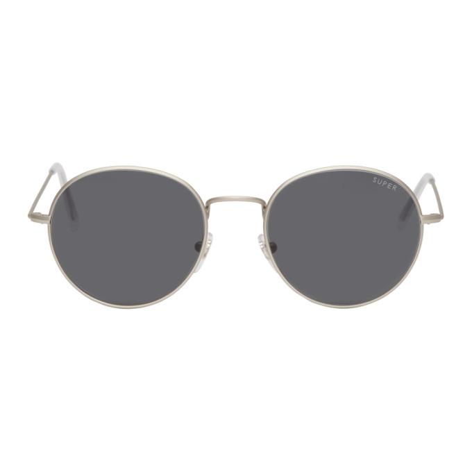 Super Silver Wire Sunglasses