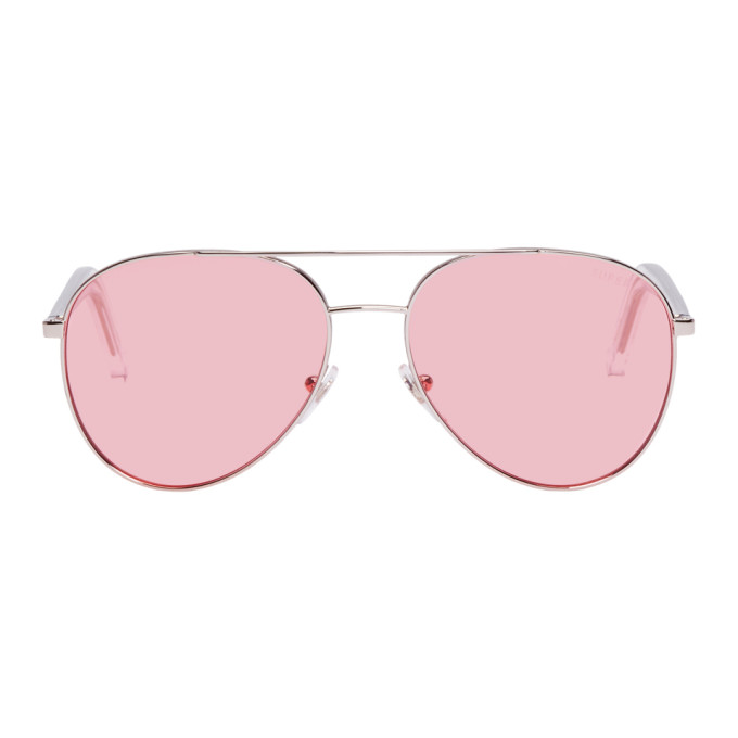 Super Silver & Pink Ideal Sunglasses