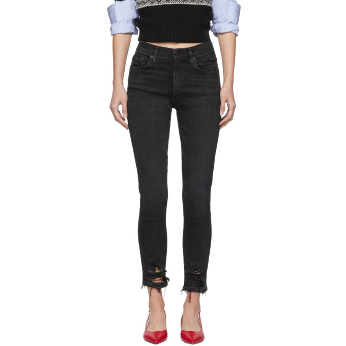 Agolde Black Sophie Skinny Jeans