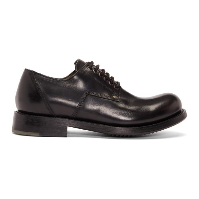 Rick Owens Black Cop Shoes
