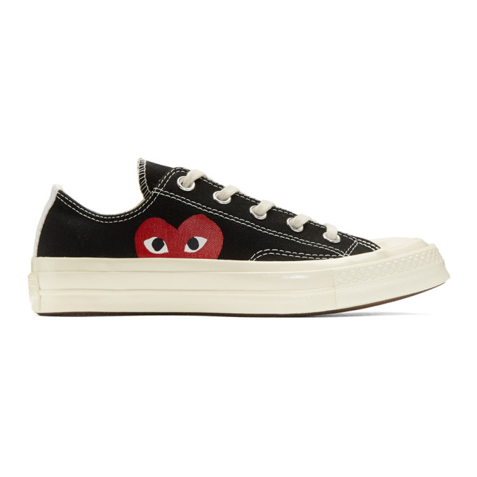 Comme des Garcons Play Black Converse Edition Chuck Taylor All-Star '70 Sneakers
