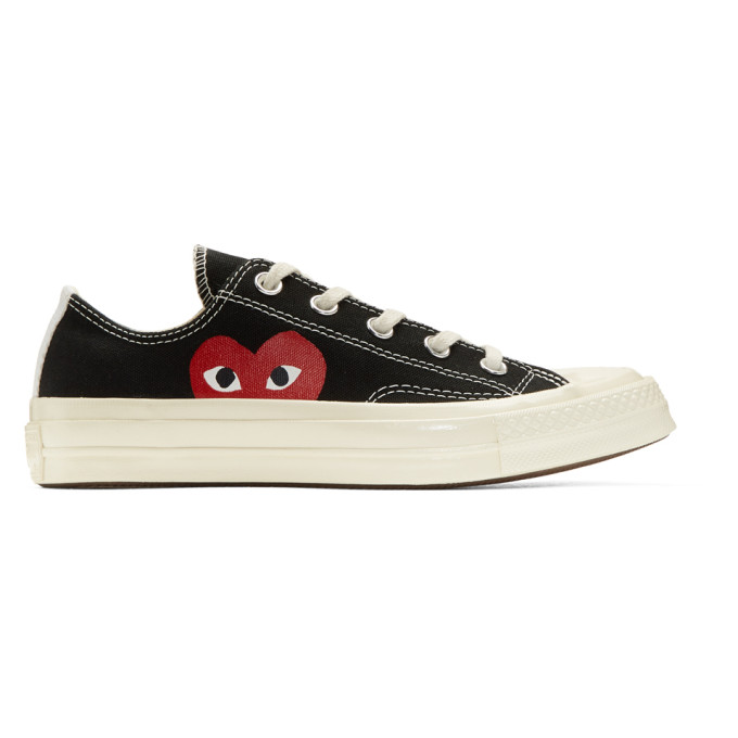 8abd969857cdec Comme des Garcons Play Black Converse Edition Chuck Taylor All Star 70  Sneakers