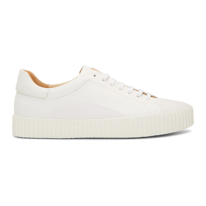 Jil Sander White Connors 101 Sneakers