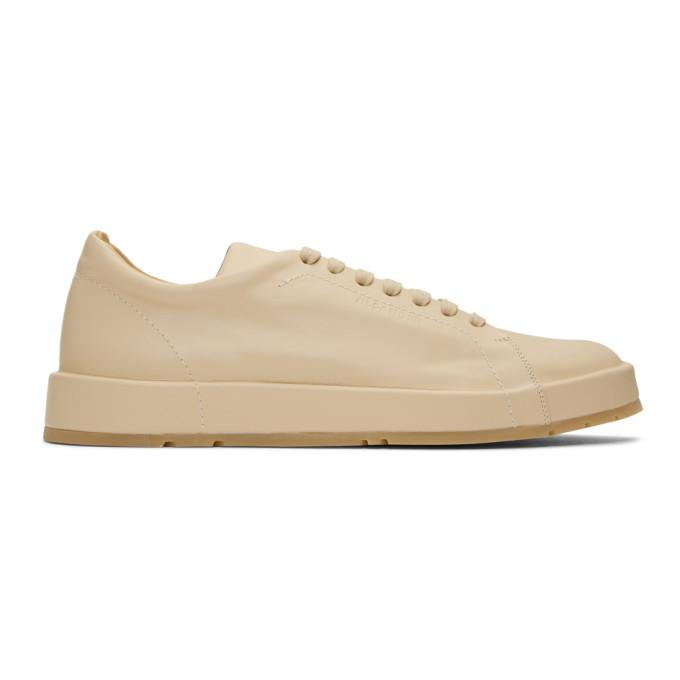 Jil Sander Beige Connors Sneakers