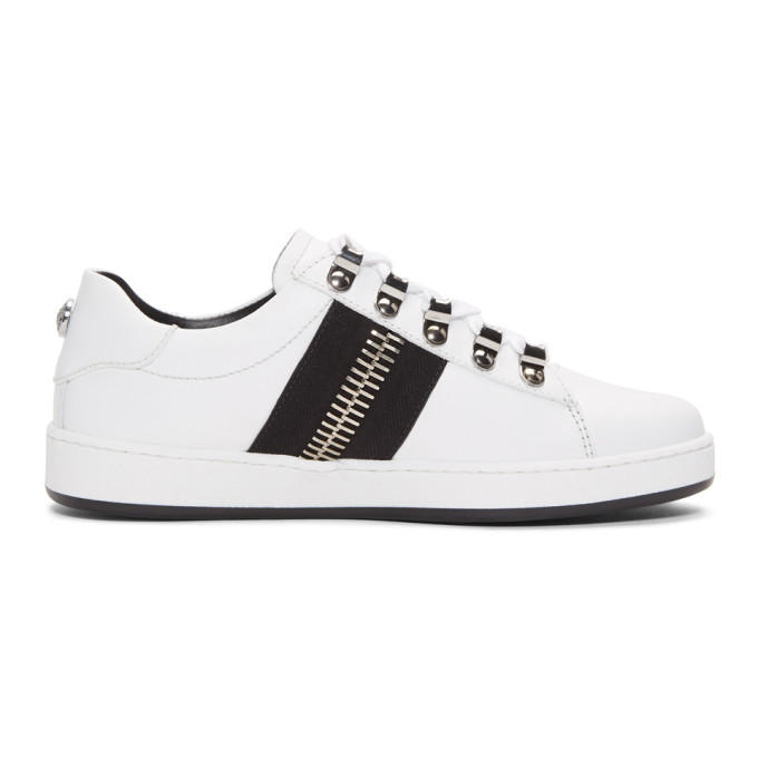 Balmain White Esther Sneakers