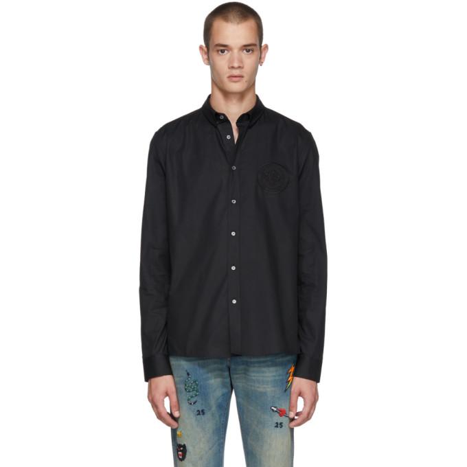 Balmain ブラック Crest シャツ