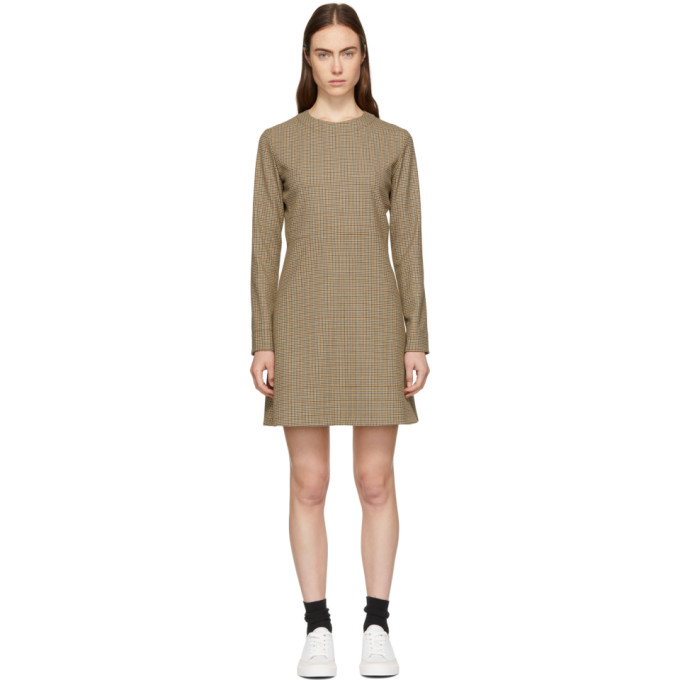 Image of A.P.C. Beige Maddy Dress
