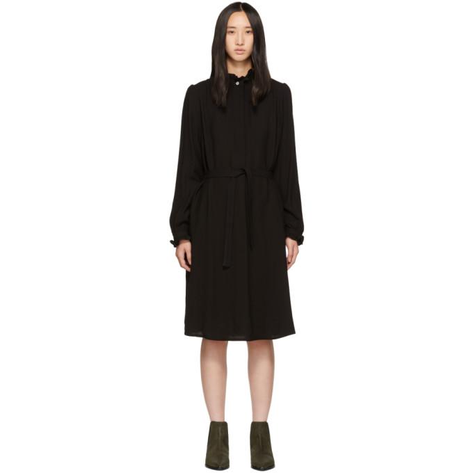 Image of A.P.C. Black Astor Dress
