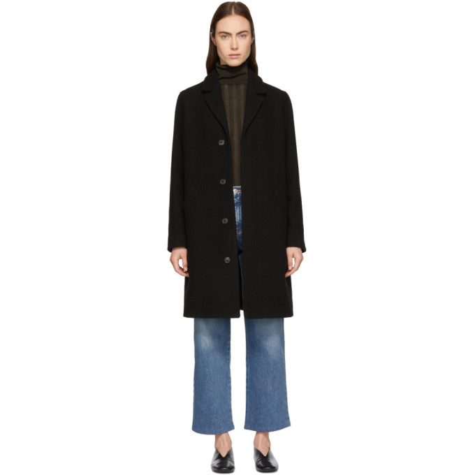 A.P.C. Black Eleven Coat