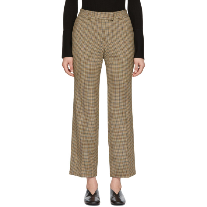 Image of A.P.C. Beige Cece Trousers