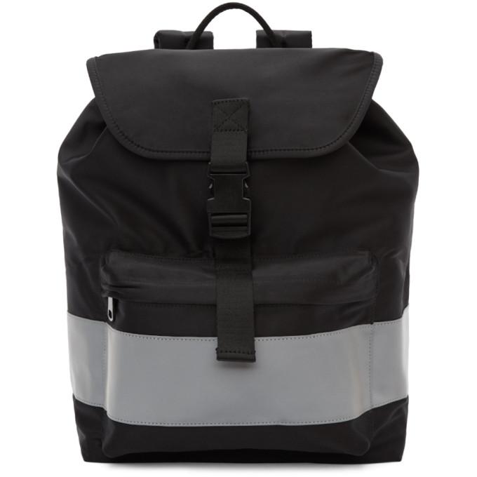 A.P.C. Black Telio Backpack