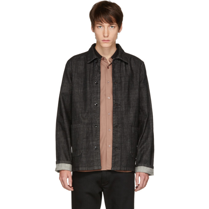 Kerlouan Denim Jacket in Black