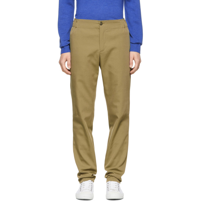 Image of A.P.C. Beige Omega Trousers