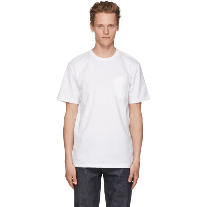 A.P.C. ホワイト ダブル T シャツ